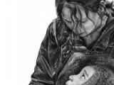 Mockingjay Pin Drawing Easy Incredible Drawing Of Katniss and Rue by Mandy Wow This