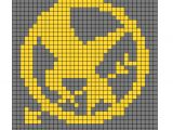 Mockingjay Pin Drawing Easy the Hunger Games Mockingjay Pin Hama Bead Pattern Ez
