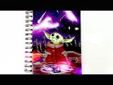Mom Drawing Easy Baby Yoda Speed Drawing