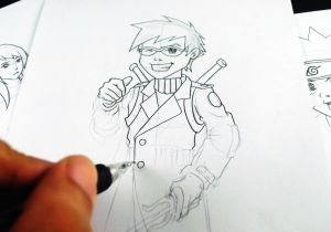 My Anime Drawing Quiz How to Learn to Draw Manga and Develop Your Own Style 5 Steps