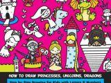 Number 7 Cartoon Drawing Bol Com How to Draw Princesses Unicorns Dragons Step by Step