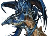 Oldest Drawings Of Dragons Ancient Blue Dragon by Benwootten On Deviantart Dragons