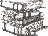 Open Book Drawing Easy Bookstack Book Drawing Drawings Book Tattoo