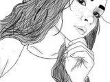 Outline Drawing Of A Girl Tumblr Die 34 Besten Bilder Von Gezeichnet Tumblr Drawings Tumblr Girl