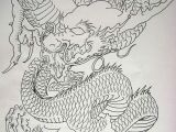 Outline Drawings Of Dragons Pin by anderson Duarte On Gueixas Pinterest Dragons Books and