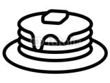 Pancakes Drawing Easy Pancakes Drawing Cute