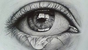 Pencil Drawing Of Girl Eyes Crying Eye Sketch Drawing Pinterest Drawings Eye Sketch and