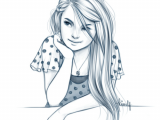 Pencil Girl Drawing Art Girl Pencil Drawings Art Sketches Pencil Drawings