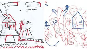 Pick 6 Drawing Time Test Draws On Doodles to Spot Signs Of Autism Spectrum Autism