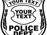 Police Badge Easy to Draw 8495 Police Free Clipart 75