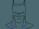 Rock Drawing Easy How to Draw Batman S Head Batman Drawing Batman Painting