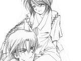 Samurai X Anime Drawing Pin by Christine Geleen King On Aioshi X Misao Rurouni Kenshin