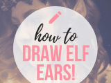 Saturn Drawing Easy How to Draw Elf Ears Create Amazing Fantasy Ears Drawings
