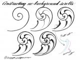 Scroll Drawing Easy Pin by Tellena Bracey On Draw Engraving Art Hand