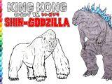 Shin Godzilla Drawing Easy Draw King Kong Vs Godzilla by Secret Tees