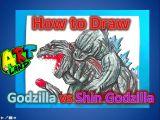 Shin Godzilla Drawing Easy Let S Draw Godzilla Scarlet Earth City On the Edge Of Battle
