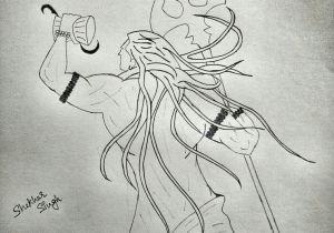 Shiva Drawing Images Easy Mahadev Shiv Ji Sketch Sketches Black Panther Shiv Ji