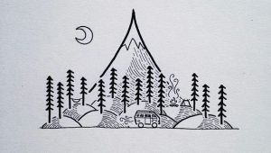 Simple Easy Sharpie Drawings Image Result for Drawing Lake Easy Simple Sharpie Drawings