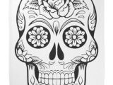 Skull Drawing Background Skull Drawing with Black Ink In White Background Bandana Black