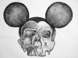 Skull Drawing Charcoal Dead Mouse Drawing Pencil Charcoal Skulls Skull Dead Mouse Art