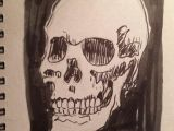 Skull Drawing Comic Christopher Levin On Skull Sketch and Sketches