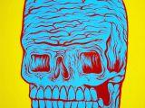 Skull Drawing Comic Gore Skull 2 Matt Geer Horror Painting Matt Geer Art Art Skull