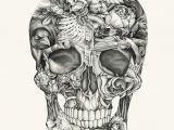 Skull Drawing Digital Aviary and Ivory Tattoos Pinterest Illustrators