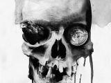 Skull Drawing Digital Digital Skull Illustrations by Noxbil Artists that Inspire Skull