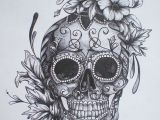 Skull Drawing for Tattoo Bildergebnis Fur Calaveras Tattoo Tattooideen Pinterest