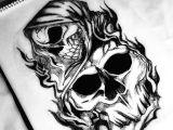 Skull Drawing Grim Reaper How to Draw A Grim Reaper Tattoo Design Body Tattoo 2018 Update