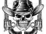 Skull Drawing Hat Cowboy Hat Skull and Pistols Skull Pinterest Tattoos Skull