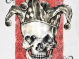 Skull Drawing Joker Pin by G A On Times Of Yesterday Skull Art Skull Art