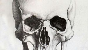 Skull Drawing Realism Skull Sketch Tattoo Pinterest Skull Sketch Drawings and Skull Art