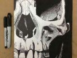 Skull Drawing Sharpie 74 Best Sharpie and Pen Art Images Paintings Pen Illustration
