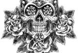 Skull Drawing Side Sugar Skull Drawing Side View Google Search Tattoo Ideas