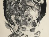 Skull Drawing Small Ink Drawngs I Don T Know Pinterest Truly Appreciate Ink