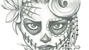 Skull Drawing Tumblr Easy Sugar Skull Lady Drawing Sugar Skull Two by Leelab On Deviantart