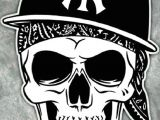 Skull Drawing with Bandana Pin by that Savage Momma On Wallpaper for Phone Skull Art Skull