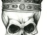Skull Drawing with Bandana the King Skull by Renatavianna Tattoo Ideas Skull Skull Tattoos