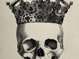 Skull Drawing with Crown Pin by Tara Linares On Crowned Skulls Pinterest Prints