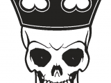Skull Drawing with Crown Skull with A Crown Sketch Google Search Stuff to Draw Vector