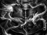 Skull Drawing with Flames Grim soulz Evil In 2019 Pinterest Skull Art Skull and Grim Reaper