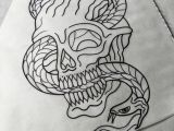 Skull Drawing with Snake Drew This Up Yesterday It S Available Space Nxt Week Thanks