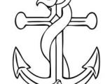 Snake Drawing Easy Step by Step How to Draw An Anchor Step 6 Drawings Anchor Drawings