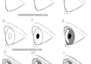 Steps In Drawing An Eye Drawing Eyes Eyeshadow Pinterest Drawings Realistic Drawings