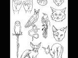 Stick Drawing Of A Cat Cc Flash Sheet No 6 Tat Tatuajes Arte Elementos