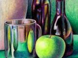 Still Life Drawing with Oil Pastels Easy 24 Best Lesson Oil Pastel Fall Still Life Images Pastel