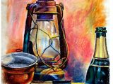 Still Life Drawing with Oil Pastels Easy Easy Modern Art with Oil Pastels Modern Art
