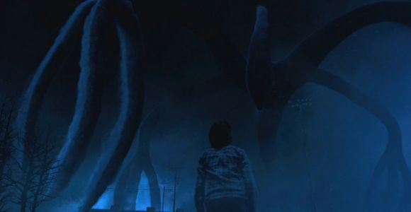 Stranger Things Drawing Of Shadow Monster the Mind Flayer Stranger Things Wiki Fandom Powered by Wikia