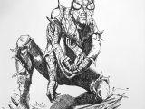 Superhero Costume Ideas Drawing Halloween Costume Idea Battle Damaged Spiderman Drawing by